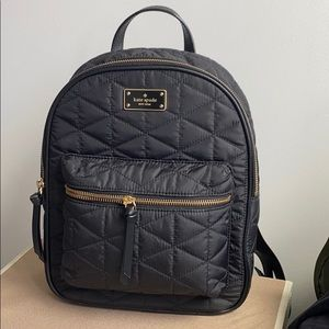 Kate Spade Small Bradley Black Backpack NWT